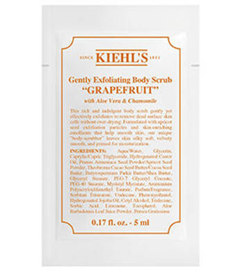 Gently Exfoliating Body Scrub Grapefruit próbka