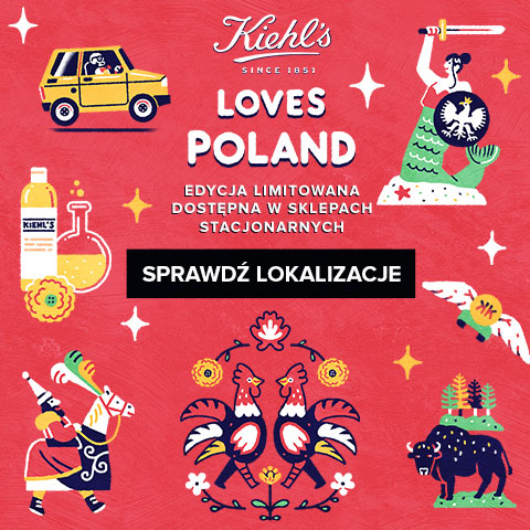 Kiehl´s Loves Poland