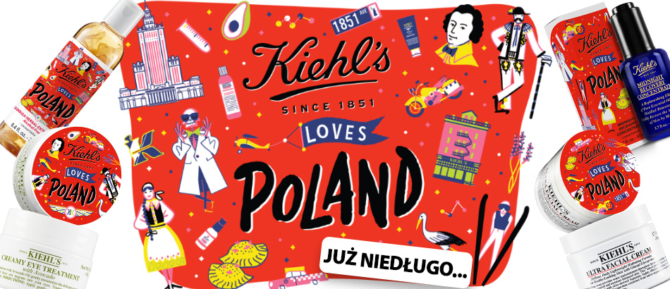 Kiehl's Loves Poland